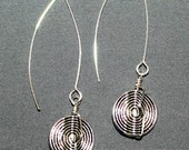 Pewter V-Wire Earrings...