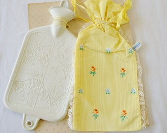 Vintage Baby Hot Water Bottle Krueger New in Package with Cover