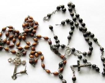 2 Vintage Rosaries Repurpose