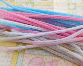 Chenille Pipe Cleaners - Four Dozen