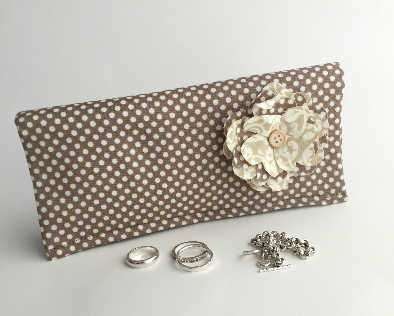 jewelry roll travel organizer anti tarnish jewelry box