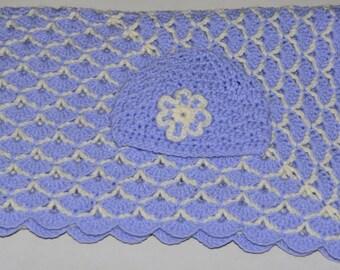 Handmade Crochet Baby Shower Baby Blanket