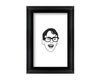 4 x 6 Framed Michael Squints Palledorous / Sandlot portrait