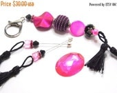 35% OFF Deluxe cross stitch gift set, Needlecraft accessories, Scissor fob keyring, Needle minder, Counting Stick Pins, Beaded Accessory, Ba