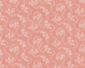 COUPON CODE SALE - Isabella, Vine, Coral, Penny Rose, Riley Blake Designs, 100% Cotton Quilt Fabric, Pink Quilting Fabric