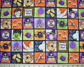 COUPON Code Sale - Red Rooster Fabrics, Boopity Boo, Halloween Fabric, 100% Cotton Quilt Fabric, Quilting Fabric, SELECT A SIZE