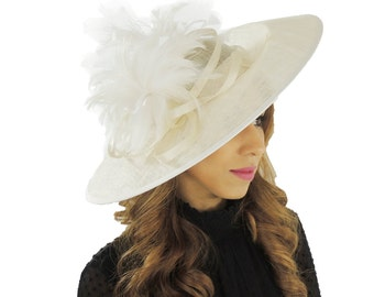 Cream Ascot Kentucky Derby Melbourne Cup Hat