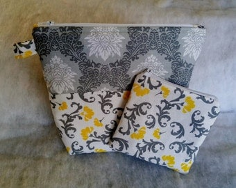 Cosmetic Bags Set, Zipper Pouches, Graduation Gift,Mother's Day Gift, Toiletry Case Set,Makeup Travel Case Set, Gift for Woman, Gift for Her