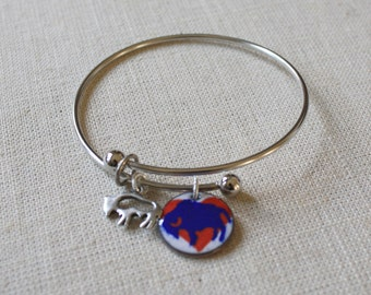 Buffalo Bangle, Buffalo Bills Bangle, Buffalo Teams Jewelry, Buffalo Bills Earrings, Buffalo Sabres Bangle, Buffalo Sabres Earrings, Buffalo