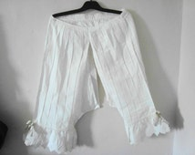Antique bloomers - shockers from early 20th century France