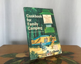 Camping Cookbook Family Camping Recipes Planning 1969 Green Paperback Betty Crocker Kitchens