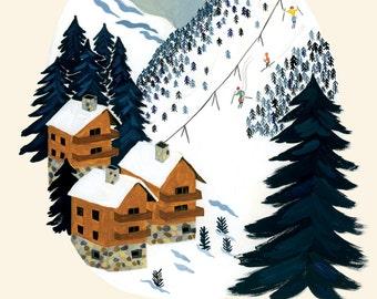 Ski Resort Card