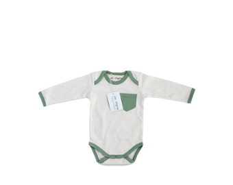 Organic Infant Bodysuit Sage