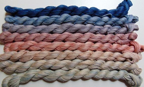 Casual Fridays- 100 Cotton Yarn, Hand Dyed, Fingering Weight