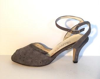Socialites Peeptoe Heels Size 8 1/2
