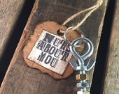 Nuts About You Keychain Key Ring