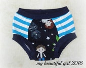 Size 3/4 Darth Stripes Childs Underwear - INSTOCK