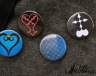 Kingdom Hearts Pin Pack