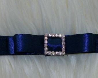 Navy headband, Plum Wedding,Navy Blue Headband,Girs Headband,Flower Headband,Baby Girl Headband
