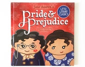 Pride and Prejudice hardcover childrens picture book abridged Little Literary Classics 8.5 by 8.5 inches illustrated