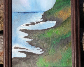 Oil Painting, Giants Causeway