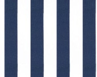 Navy and White Stripe Runner