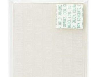 Dear Lizzy Serendipity Embossing Folder