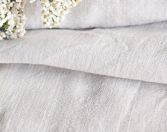 R 189 antique handloomed upholstery fabric 3.060yards FRENCH GREY laundered 24.80wide curtain tablecloth