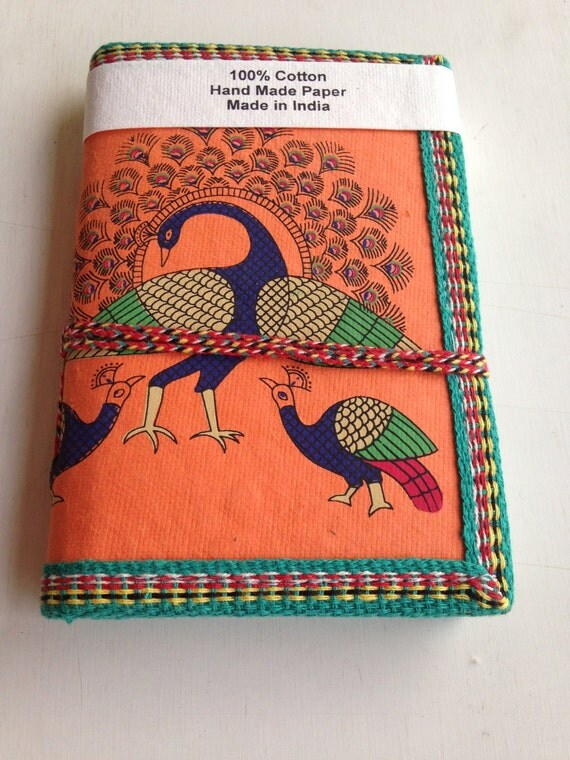 A handmade journal by IndianJournals on Esty