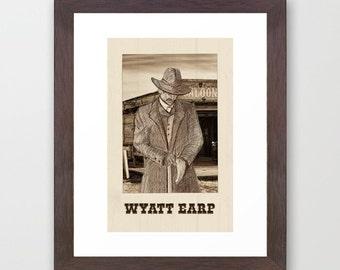 Original Print of Wyatt Earp
