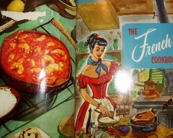 1955 Culinary Arts Fabulous Foods Vol 1- 12 Cookbooks- French-Creole- Chocolates- Desserts-Casseroles  080416