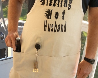 Apron for your Sizzling Hot Husband