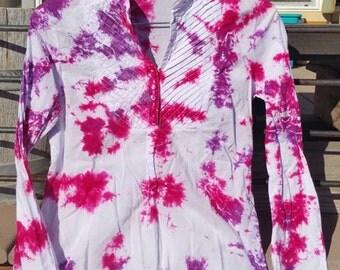 Tie Dye Cotton Blouse