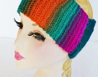 Dreads Headband, Yoga Keepfit Headband, Womens Chunky Knit Headband, Wide Headband, Earwarmer