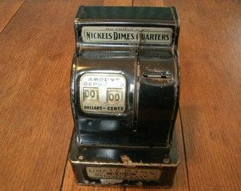 Uncle Sam's 3 Coin Register Bank