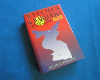 """Hardback Book """"Witches & Warlocks Tales of Black Magic Old and New"""""""
