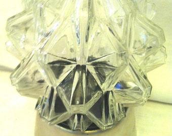 Vintage Mod Glass Star Light from Barneche/Stephanie Barnes