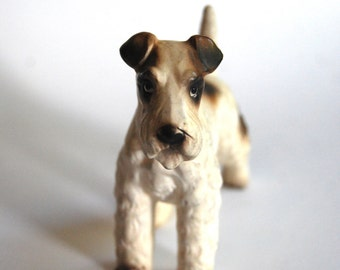 Vintage Dog, Airedale Terrier