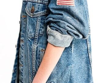 35% OFF SUMMER SALE The Vintage Usa Tiger Patch Levi's Heritage Jacket