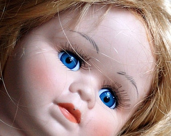 vintage ceramic doll's head, collectibles, toy, home decor, coolvintage, photography prop, UA