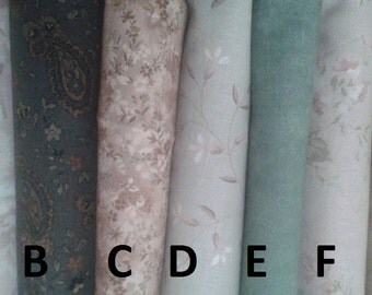 Moda Evening Mist Fat Quarters
