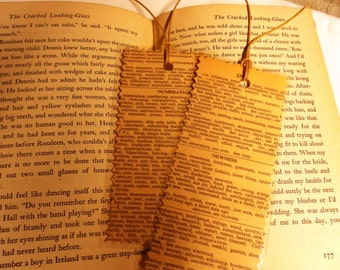 Pair of Handmade Laminated Bookmarks