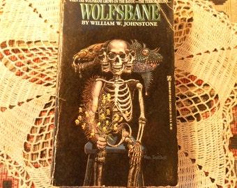 WOLFSBANE vintage paperback by William W. Johnstone 1987 sunday sale