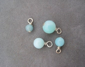 Blue Opal Eggs - Peruvian Opal - Replacement - Uncommon Goods - Nest Egg Necklace