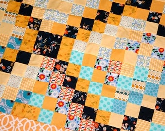 Lap Quilt top sale Trip Around the World SALE