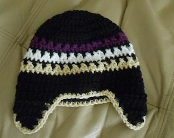 Child Ear Flap Hat