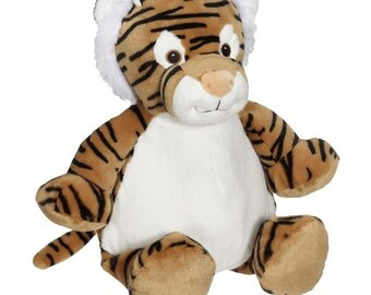 Personalized Tiger Stuffed Animal Custom Embroidery Child Gift