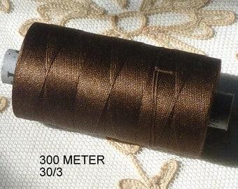 Vintage Swiss Quality spun silk thread