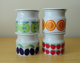 arabia finland pomona jars collection