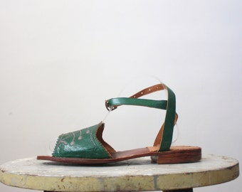 1920s leather sandals